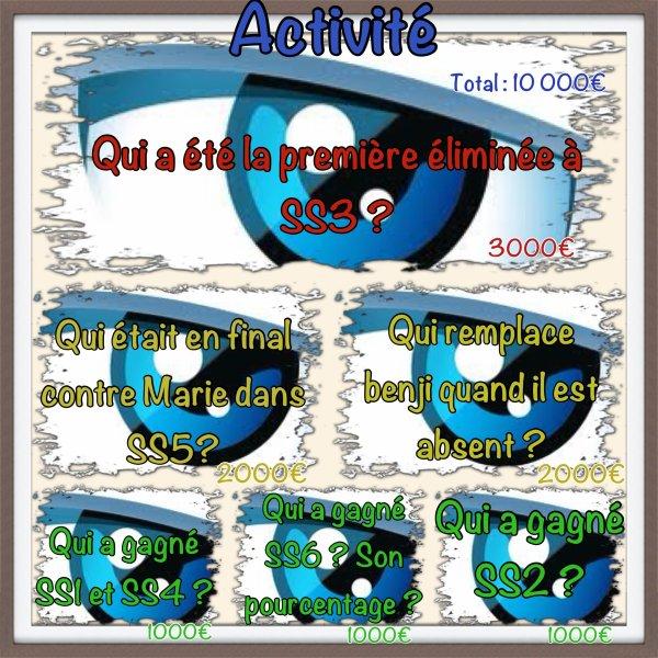 Activité !!