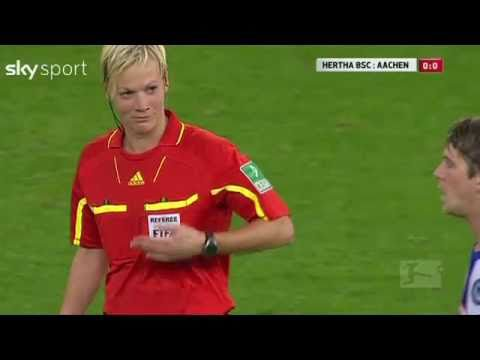 Soccer Player Accidentally Slaps A Referee's Boob