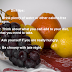 des fruits: pour perdre du poids!