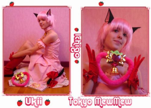 Cosplay de Mew Mew Ichigo by ♥ Ukii ♥