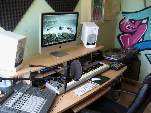 mon nouveau home studio......