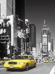 taxi jaune NY