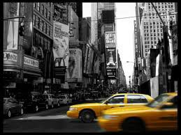 ville et taxi de NY