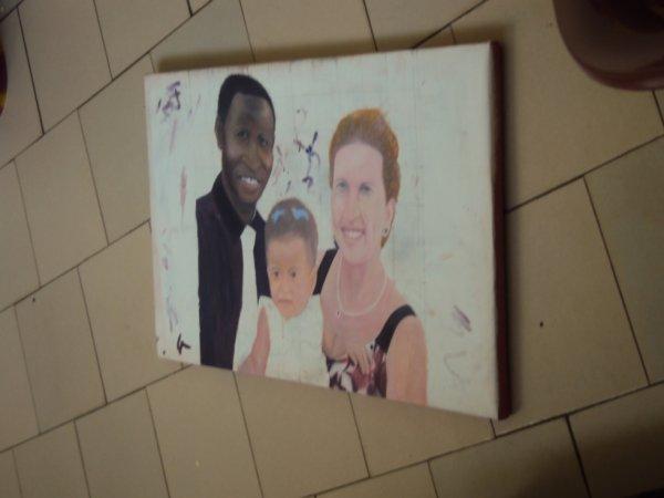 portrait de la famille Daouda BA