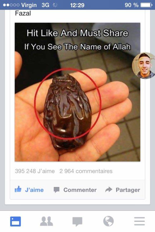 Allah veille sur nous