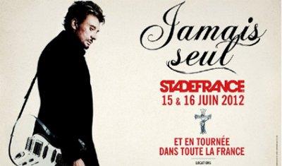 Johnny Hallyday annonce les premières dates de sa tournée 2012!