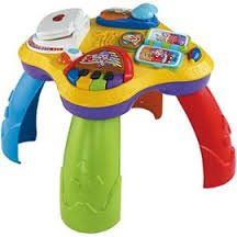 table fisher price bilingue