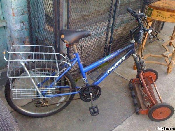 Vélo à tout faire