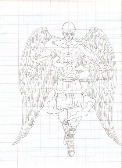 Mes dessin une passion un passe temps ps cliquer sur - Dessin d ange gardien ...