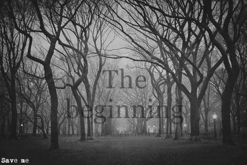Prologue - The beginning