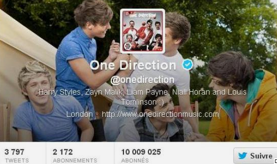 Twitter, ils ont dépassé les 10 millions de followers !