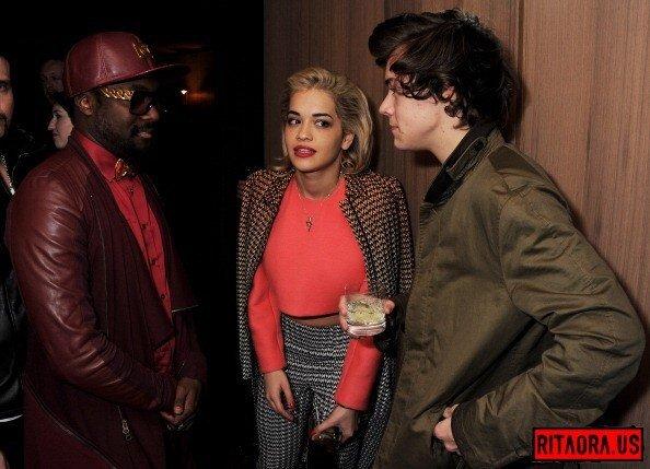 #NEW | Harry, Wil.i.am & Rita tonight!