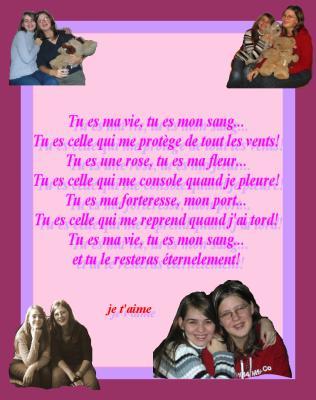 Encore Un Poème Pour Ma Cousine Que Jaime Jiminy Et