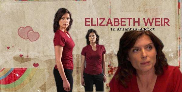 Torri Higginson → Elizabeth Weir.