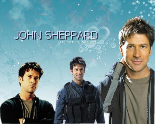 Joe Flanigan → John Sheppard.