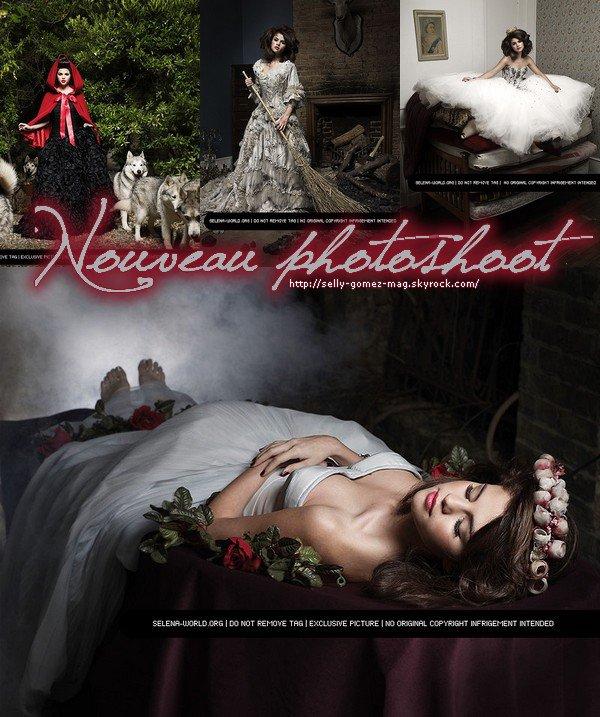_ Nouveau photoshoot de la belle Selena Gomez , personnellement je le trove tres beau j'adore la photo ou elle est couchee. & Vous ? _