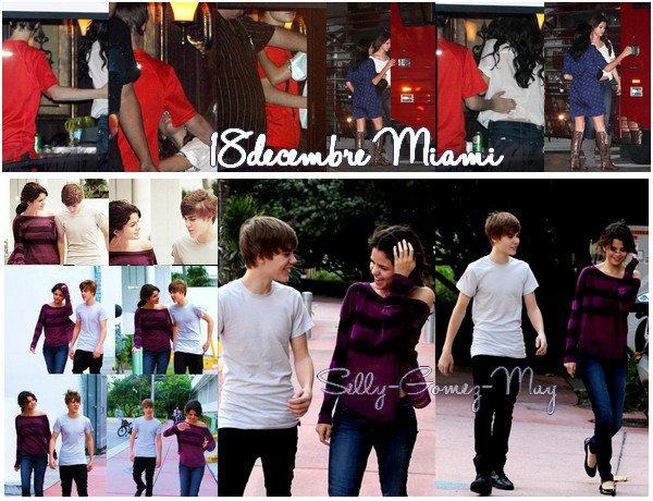 Comme beaucoup d'entre vous le savent ... Selena suit Justin Bieber dans sa tournee , je ne sais pas si je dois penser qu'il ne sont que amis ou non. Enfin on verra bien. Voici les photos lors du concert a Miami & d'un autre concert. Mais si je ne me trompe elle suivait Nick Jonas aussi dans sa tournee... Et quand est ce qu'elle compte commencer la sienne ? Sinon les photos du dernier photoshoot duquel je suis fan. Ainsi que la couverture de Sugar. Pendant les fetes je serais tres peu connecter donc voila vous etes prevenu ;)