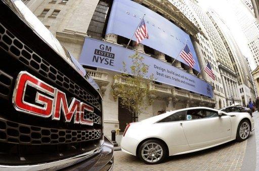 GM lève 23 milliards de dollars pour son retour en Bourse, un record