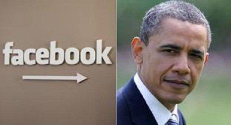 """Obama en tchat chez son """"ami"""" Facebook"""