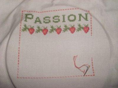Passion fraise de Madame la fée