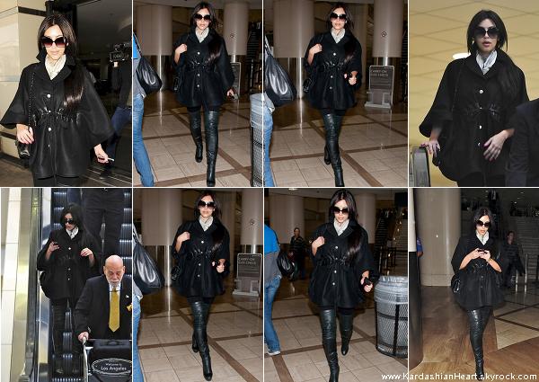 . 24.04.11 Kim était de retour à Los Angeles .