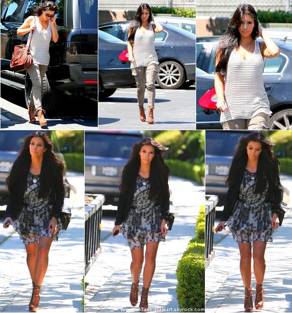 . 26.04.11 Kim sortait dans L.A.