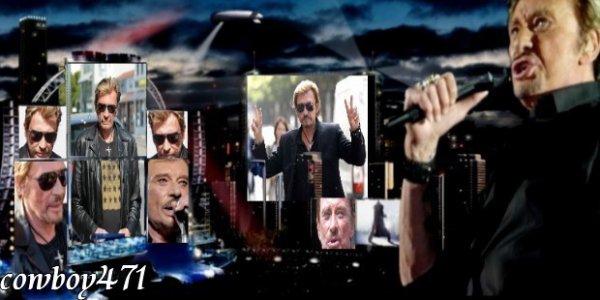 Ma bannière de Bienvenue sur mon blog & NEWS Johnny Hallyday