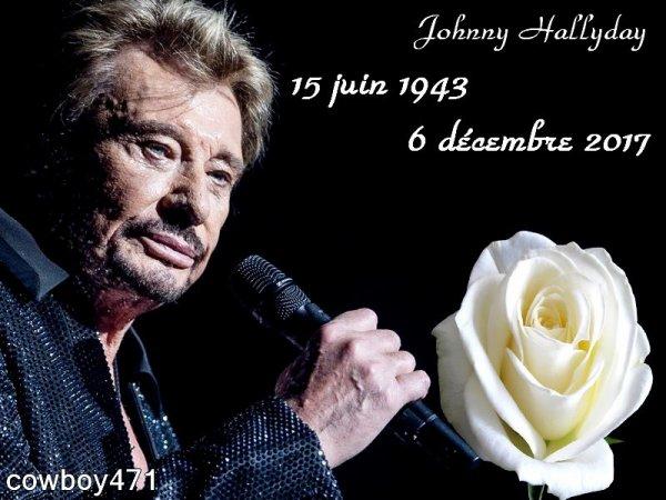Repose en paix mon Johnny tu restera a jamais dans mon coeur