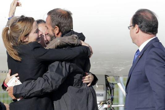 les otages enfin libéré