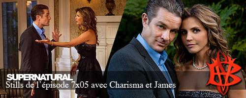 Charisma Carpenter et James Marsters dans Supernatural