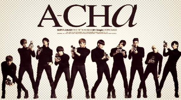 A-CHA / My love, My kiss, My heart - Super Junior (2012)