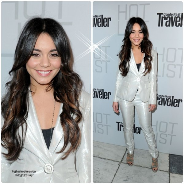♥ @VANESSAHUDGENS AU CONDE NAST HOT LIST PARTY