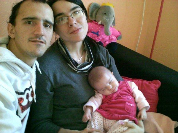 moi ma femme et ma fille