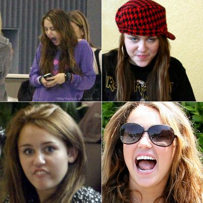 Miley quand elle est fatigué