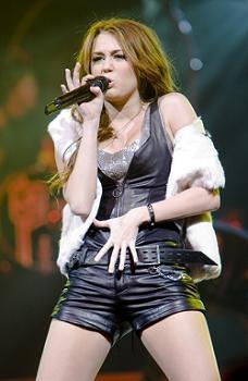 Miley en concert