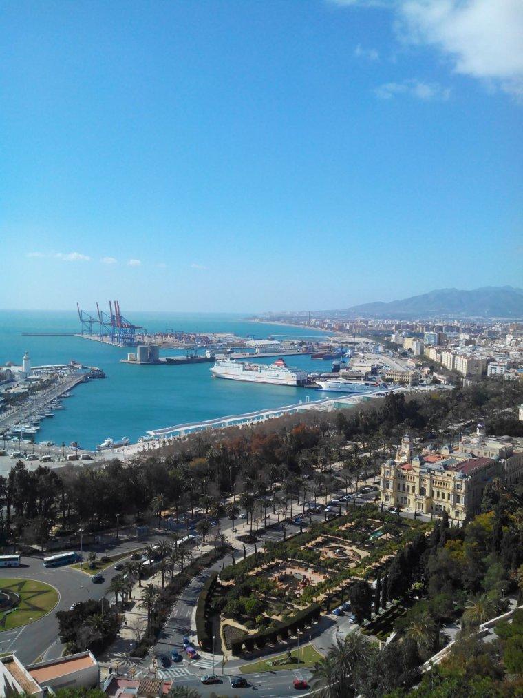 Malaga (espagne) :3 muy guapa este ciudad
