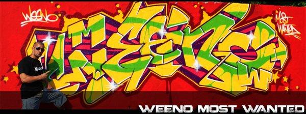 weenO' D'seine Graffiti