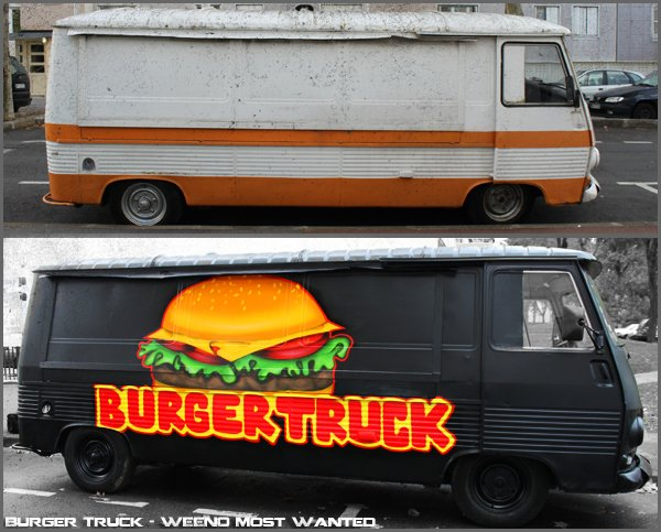 WEENO Most Wanted - Burger Truck