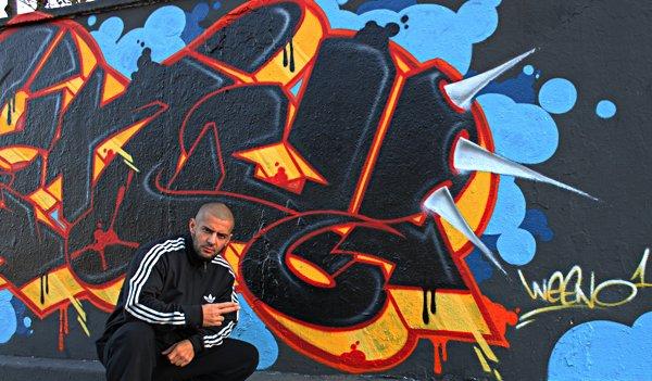 WEENO - Most Wanted - 2011 Graffiti Production