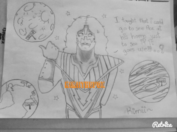 <<DRAWINGS>> : Tommy Thayer - THE SPACEMAN