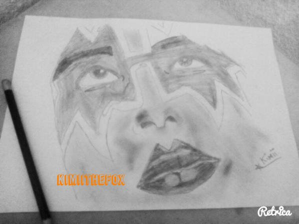 <<DRAWINGS>> : Ace Frehley - THE SPACEACE #2