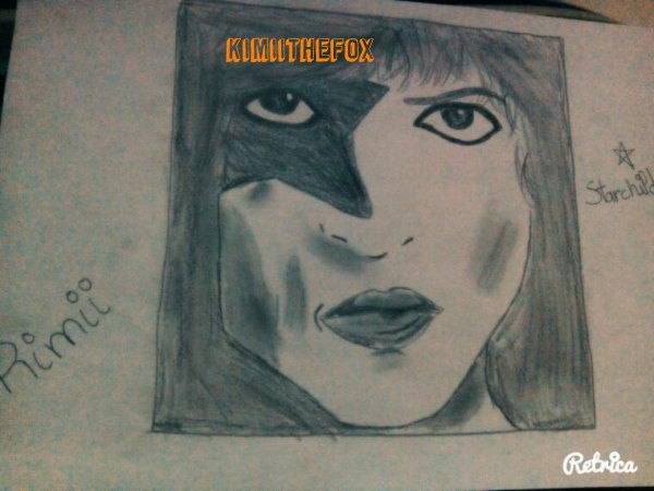 <<DRAWINGS>> : Paul Stanley - THE STARCHILD