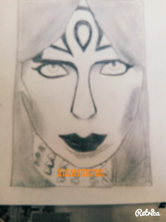 <<DRAWINGS>> : Vinnie Vincent - THE WIZARD