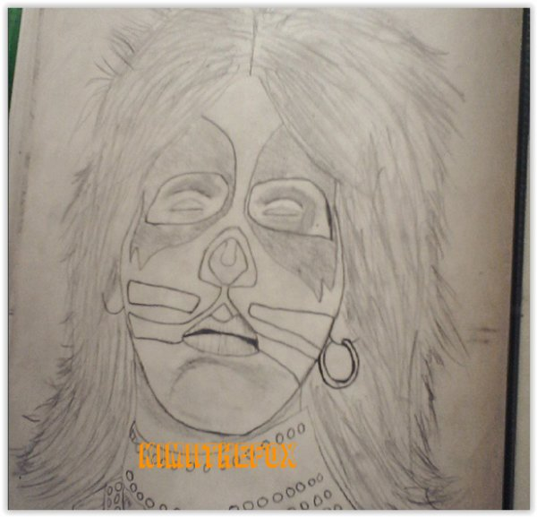 <<DRAWINGS>> Peter Criss - THE CATCRISS #2