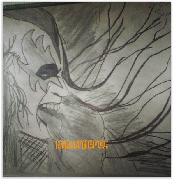 <<DRAWINGS>> Gene Simmons - THE DEMON