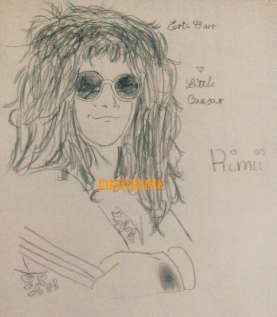 <<DRAWINGS>> Eric Carr - WITHOUT MAKEUP #1