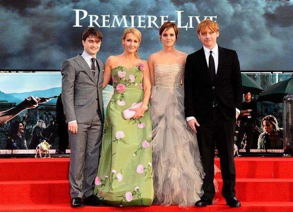 Petit retour en arrière le 7 juillet 2011 : avant première mondiale Londonienne d'Harry Potter et les Reliques de la Mort partie 2