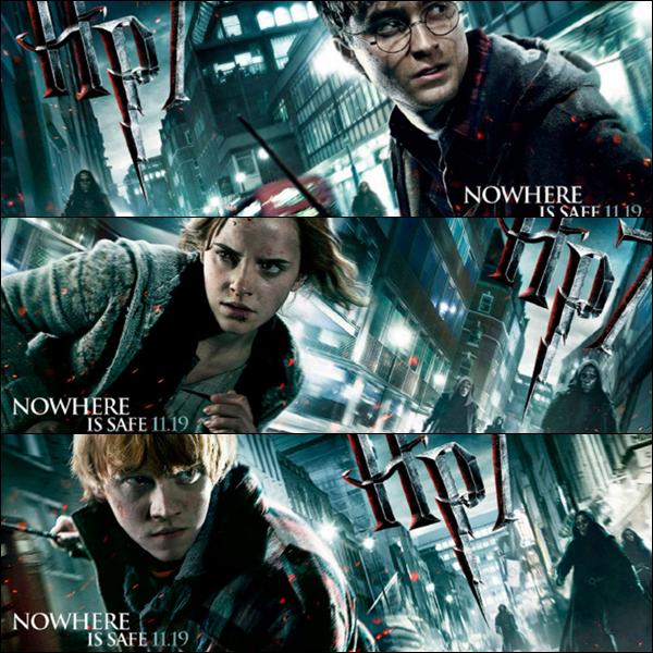 Nouvelles bannières HP7 - nouveaux clips HP7 -  Titres de la BO révélés + extraits !!