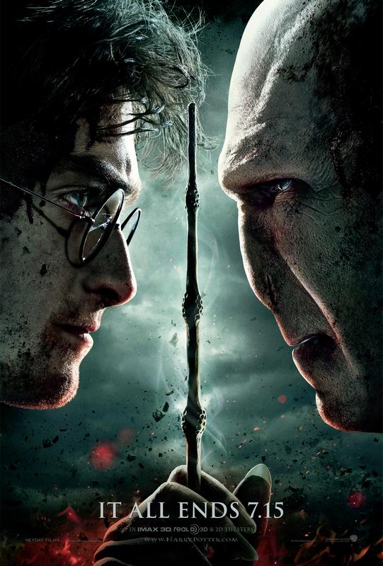 Scène inédite HP7 partie 1 - nouvelles vidéos - poster officiel de la partie 2 !