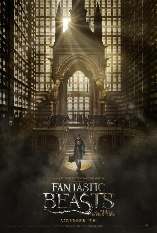 Trailer : Fantastic Beasts and Where to Find Them